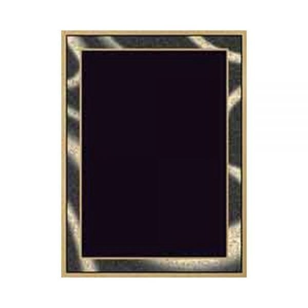 Artist Plaque Plates are available in many colors and sizes. Those plates could be a really good addition to any plaque. They are laser engrave gold.
